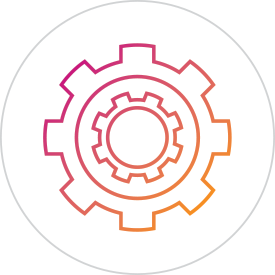 Service Delivery and Support icon