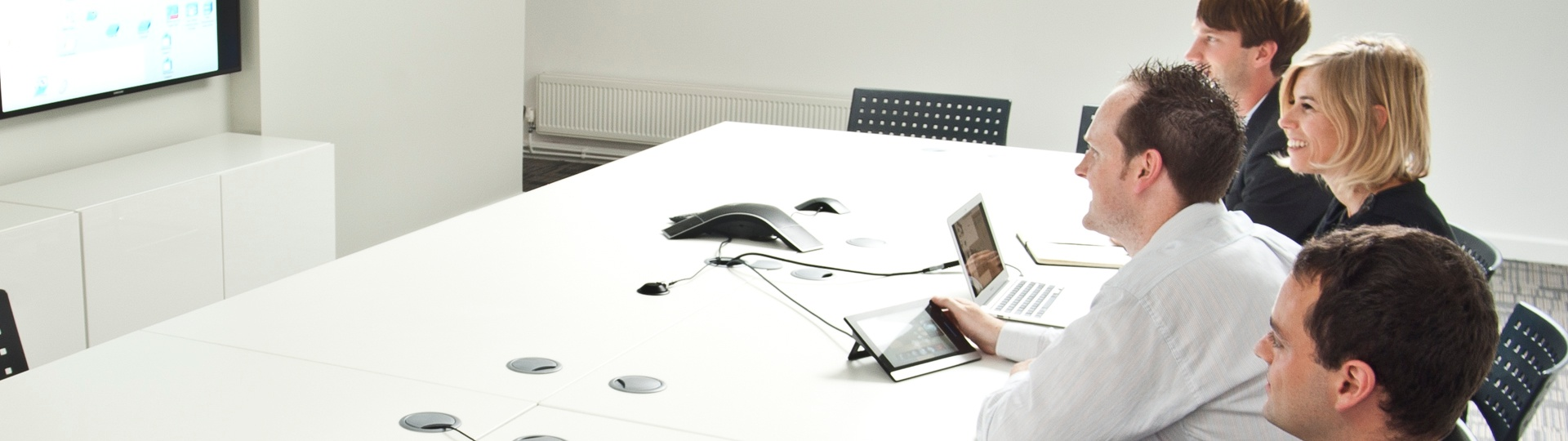 Video conferencing at Ideal