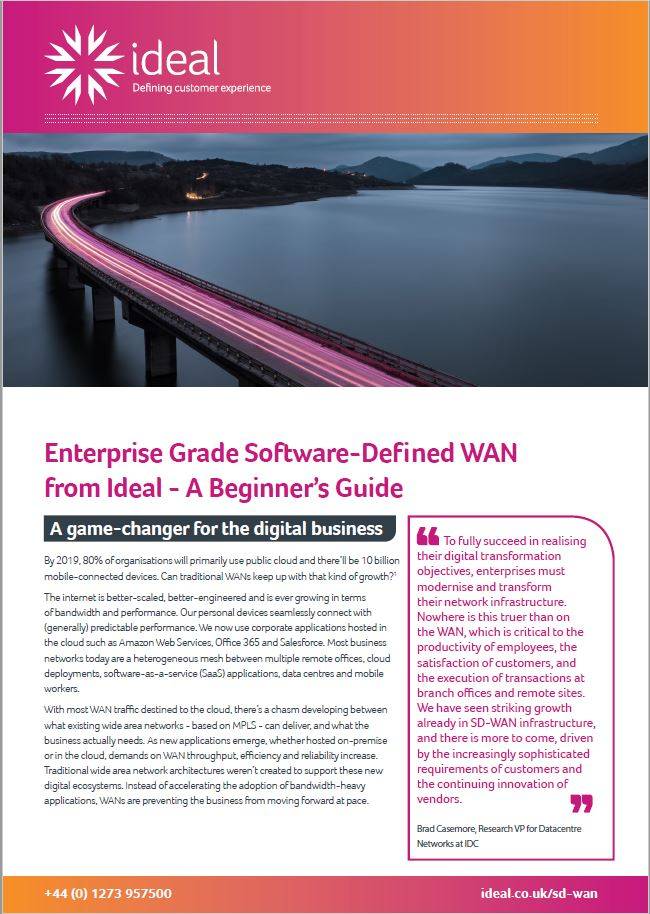 Beginners Guide SD-WAN front cover